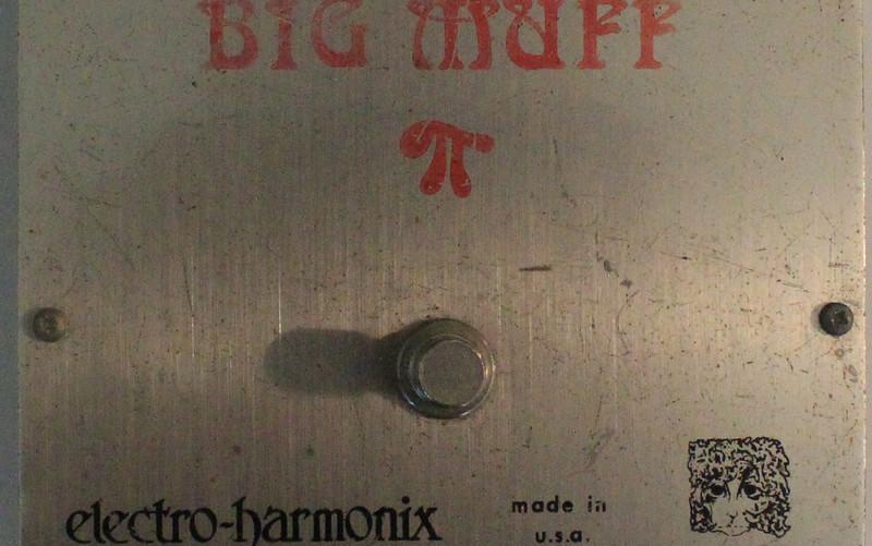 Electro Harmonix Big Muff Ram's Head 1975