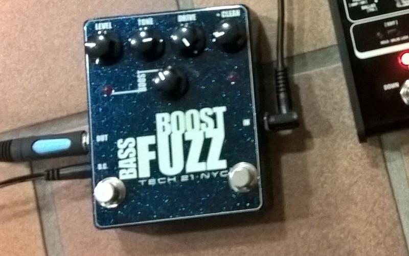 Tech 21 Fuzz Bass Boost